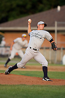 July 5th 2008:  Pitcher Brad Rulon of the Staten Island Yankees, Class-A affiliate of the NY Yankees, during a game at Falcon Park in Auburn, NY.  Photo by:  Mike Janes/Four Seam Images