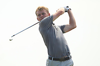 Hugh O'Hare (Fortwilliam) on the 12th tee during Round 4 of the East of Ireland Amateur Open Championship 2018 at Co. Louth Golf Club, Baltray, Co. Louth on Monday 4th June 2018.<br /> Picture:  Thos Caffrey / Golffile<br /> <br /> All photo usage must carry mandatory copyright credit (&copy; Golffile | Thos Caffrey)