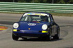 Fritz Seidel races his 1969 Porsche 911R at The Brian Redman International Challenge at Road America, 2005.