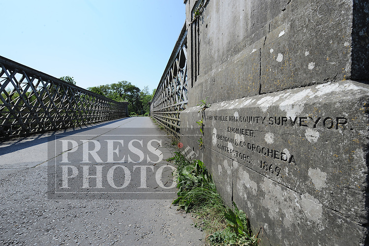 Obelisk monument and bridge at Townley Hall near Drogheda, County Louth. Photo:Colin Bell/pressphotos.ie