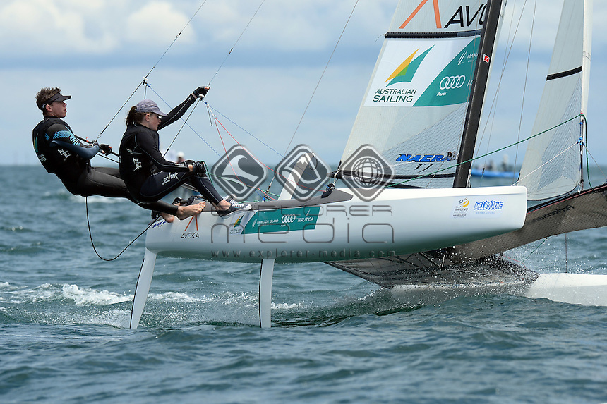 Paul Darmann & Lucy Copeland (AUS)<br />