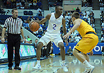 February 4, 2017:  Air Force guard, CJ Siples #2, in action during the NCAA basketball game between the Wyoming Cowboys and the Air Force Academy Falcons, Clune Arena, U.S. Air Force Academy, Colorado Springs, Colorado.  Wyoming defeats Air Force 83-74.