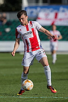 Jonny Smith of Cheltenham during the Sky Bet League 2 match between Newport County and Cheltenham Town at Rodney Parade, Newport, Wales on 10 September 2016. Photo by Mark  Hawkins / PRiME Media Images.