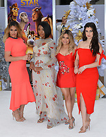 Fifth Harmony at the world premiere for &quot;The Star&quot; at the Regency Village Theatre, Westwood. Los Angeles, USA 12 November  2017<br /> Picture: Paul Smith/Featureflash/SilverHub 0208 004 5359 sales@silverhubmedia.com