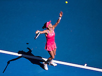 AGNIESZKA RADWANSKA (POL)<br /> <br /> TENNIS - GRAND SLAM ITF / ATP  / WTA - Australian Open -  Melbourne Park - Melbourne - Victoria - Australia  - January 2016<br /> <br /> &copy; Tennis Photo Network