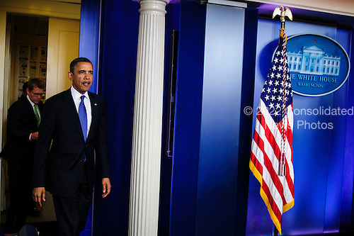 "United States President Barack Obama said he was optimistic about Fiscal Cliff negotiations during a press conference at the White House in Washington, District of Columbia, U.S., on Friday, December 28, 2012. The remarks to the press followed a  meeting with Senate and House Republican leaders at the White House to discuss the looming tax hikes and spending cuts of the approaching ""fiscal cliff.""..Credit: Pete Marovich / Pool via CNP"