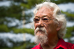 David Suzuki at the Jobs, Justice and Climate march in Toronto.  On July 5th more than 10,000 people gathered in Toronto, the traditional territories of the Missisauga peoples, for the March for Jobs, Justice and the Climate. The march told the story of a new economy that works for people and the planet. People marched for an economy that starts with justice, creates good work, clean jobs and healthy communities. The people recognize that we have solutions and we know who is responsible for causing the climate crisis. (Photo: Robert van Waarden)