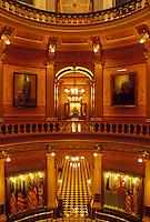 State Capitol, State House, Lansing, MI, Michigan, Interior of the Michigan State Capitol Building in the capital city of Lansing.