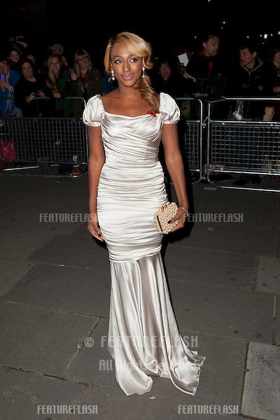Alexandra Burke arriving for the Cosmopolitan Ultimate Women of the Year Awards , Victoria & Albert Museum, London. 30/10/2012 Picture by: Simon Burchell / Featureflash