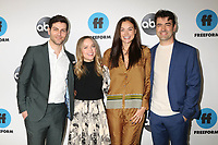 LOS ANGELES - FEB 5:  David Guintoli, Allison Miller, Christina Ochoa, Ron Livingston at the Disney ABC Television Winter Press Tour Photo Call at the Langham Huntington Hotel on February 5, 2019 in Pasadena, CA.<br /> CAP/MPI/DE<br /> ©DE//MPI/Capital Pictures