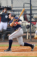 Matt Lipka (15) Infielder for the GCL Braves during a game on July 1, 2010 against the GCL Yankees at the Yankees Training Complex in Tampa, The GCL Braves are the Gulf Coast Rookie League affiliate of the Atlanta Braves.Lipka was selected by the Atlanta Braves in the first round (35th overall) of the 2010 MLB first year player draft. Photo By Mark LoMoglio/Four Seam Images