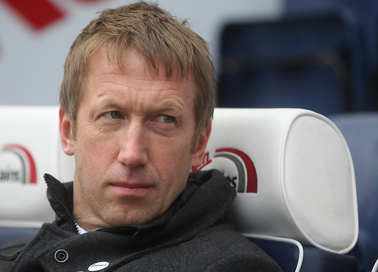 Swansea City's Manager Graham Potter  <br /> <br /> Photographer Mick Walker/CameraSport<br /> <br /> The EFL Sky Bet Championship - Preston North End v Swansea City - Saturday 12th January 2019 - Deepdale Stadium - Preston<br /> <br /> World Copyright © 2019 CameraSport. All rights reserved. 43 Linden Ave. Countesthorpe. Leicester. England. LE8 5PG - Tel: +44 (0) 116 277 4147 - admin@camerasport.com - www.camerasport.com