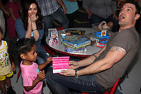 Megan Fox, Brian Austin Green<br /> &quot;Stars 4 Smiles&quot; visiting children at hospital at Harbor-UCLA Medical Center, Torrance, CA 09-16-14<br /> David Edwards/DailyCeleb.com 818-249-4998