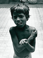Bettler in Indien 1974