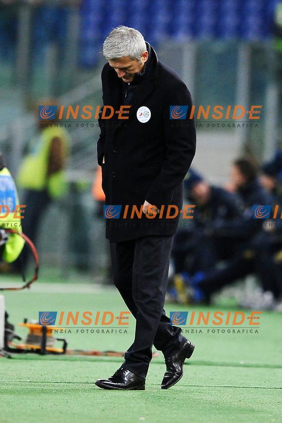 Vladimir Petkovic, allenatore della Lazio.26/01/2013 Roma.Stadio Olimpico.Football Calcio 2012 / 2013 .Campionato di Calcio Serie A.Lazio vs Chievo.Foto Insidefoto / Antonietta Baldassarre.