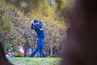 Lucas Bjerregaard (DEN) watches his tee shot on 10 during day 1 of the Valero Texas Open, at the TPC San Antonio Oaks Course, San Antonio, Texas, USA. 4/4/2019.<br /> Picture: Golffile | Ken Murray<br /> <br /> <br /> All photo usage must carry mandatory copyright credit (© Golffile | Ken Murray)