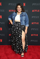 LOS ANGELES, CA - MAY 30: Britney Young at the #NETFLIXFYSEE Glow Event at NETFLIX FYSEE Raleigh Studios in Los Angeles, California on May 30, 2018. <br /> CAP/MPIFS<br /> &copy;MPIFS/Capital Pictures