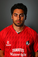 PICTURE BY VAUGHN RIDLEY/SWPIX.COM - Cricket - County Championship - Lancashire County Cricket Club 2012 Media Day - Old Trafford, Manchester, England - 03/04/12 - Lancashire's Naqaash Tahir.