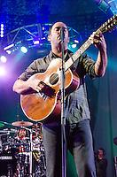 Dave Matthews performs during Summer 2013 tour at Cruzan Amphitheatre, West Palm Beach, FL, July 19, 2013