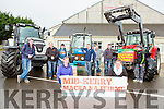 The Mid Kerry Macra na feirme tractor run will be held in Milltown on Sunday 20th March at the launch in Milltown Mart were Padraig Clifford, Michelle Flynn, Karen Flynn, James O'Connor, Shane Clifford, Trevor Coffey, Sean Joy, Patrick Clifford and Niall Flahive