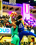June 28th, 2019: The New York Liberty overcame a six point deficit in the fourth quarter to defeat the Dallas Wings 69-68.  The physical contest took place at the Westchester Community Center in White Plains, New York. Heary/Eclipsesportswire/CSM