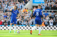 A dejected Olivier Giroud of Chelsea during Newcastle United vs Chelsea, Premier League Football at St. James' Park on 13th May 2018