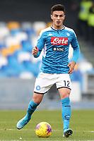 Eljif Elmas of Napoli<br /> Napoli 14-01-2020 Stadio San Paolo <br /> Football Italy Cup 2019/2020 SSC Napoli - AC Perugia<br /> Photo Cesare Purini / Insidefoto