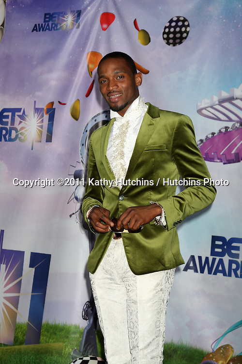LOS ANGELES - JUN 26:  D'Banj in the Press Room at the 11th Annual BET Awards at Shrine Auditorium on June 26, 2004 in Los Angeles, CA