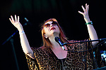 Judith Owen in concert during 'Las Noches del Botanico 2019 -The nights in the Botanic 2019'. July 11, 2019. (ALTERPHOTOS/Acero)