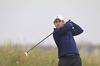 Patrick McCrudden (Royal Portrush) on the 1st tee during Round 1 - Matchplay of the North of Ireland Championship at Royal Portrush Golf Club, Portrush, Co. Antrim on Wednesday 11th July 2018.<br /> Picture:  Thos Caffrey / Golffile
