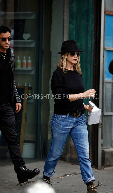 WWW.ACEPIXS.COM . . . . .  ....September 20 2011, New York City....Justin Theroux and Jennifer Aniston seen out in Manhattan on September 20 2011 in New York City....Please byline: CURTIS MEANS - ACE PICTURES.... *** ***..Ace Pictures, Inc:  ..Philip Vaughan (212) 243-8787 or (646) 679 0430..e-mail: info@acepixs.com..web: http://www.acepixs.com