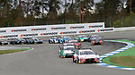05.10.2019, Hockenheimring, Hockenheim, DTM 2019, Hockenheimring,04.10. - 06.10.2019 , im Bild<br />Rennstart:<br />Rene Rast (DEU#33), Audi Sport Team Rosberg, Mike Rockenfeller (DEU#99), Audi Sport Team Phoenix, Marco Wittmann (DEU#11), BMW Team RMG, Loic Duval (FRA#28), Audi Sport Team Phoenix, Jonathan Aberdein (ZAF#27), WRT Team Audi Sport, Nico Müller (CHE#51), Audi Sport Team Abt Sportsline, Jenson Button (GBR#1), Team Kunimitsu Honda<br /> <br /> Foto © nordphoto / Bratic