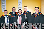 "Stephen O""Sullivan, Killarney, Pat Drumy, Tralee, Denis O'Se, Miltown, Jeffery O""Connor, Camp and Joseph Sheehan, Castleisland."