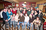 CELEBRATIONS: Celebrations at Betty's Bar, Strand Road, Tralee, on Wednesday night last as Tom Seymour of Spa Road (seated centre) celebrated his 60th Birthday with family and friends..
