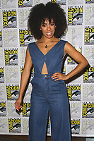 SAN DIEGO - July 23:  Pearl Mackie at Comic-Con Sunday 2017 at the Comic-Con International Convention on July 23, 2017 in San Diego, CA