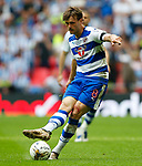 John Swift of Reading during the SkyBet Championship Play Off Final match at the Wembley Stadium, England. Picture date: May 29th, 2017.Picture credit should read: Matt McNulty/Sportimage