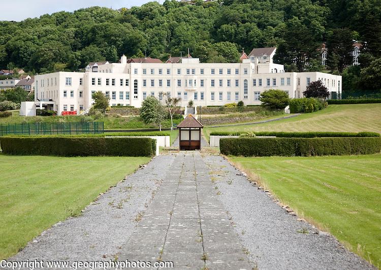 Cygnet hospital care home Kewstoke, Weston-Super-Mare, Somerset, England built 1933