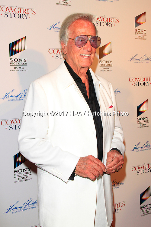 """LOS ANGELES - APR 13:  Pat Boone at the """"A Cowgirl's Story"""" Premiere at the Pacific Theatres at The Grove on April 13, 2017 in Los Angeles, CA"""