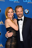 Leslie Mann & Judd Apatow at the 70th Annual Directors Guild Awards at the Beverly Hilton Hotel, Beverly Hills, USA 03 Feb. 2018<br /> Picture: Paul Smith/Featureflash/SilverHub 0208 004 5359 sales@silverhubmedia.com
