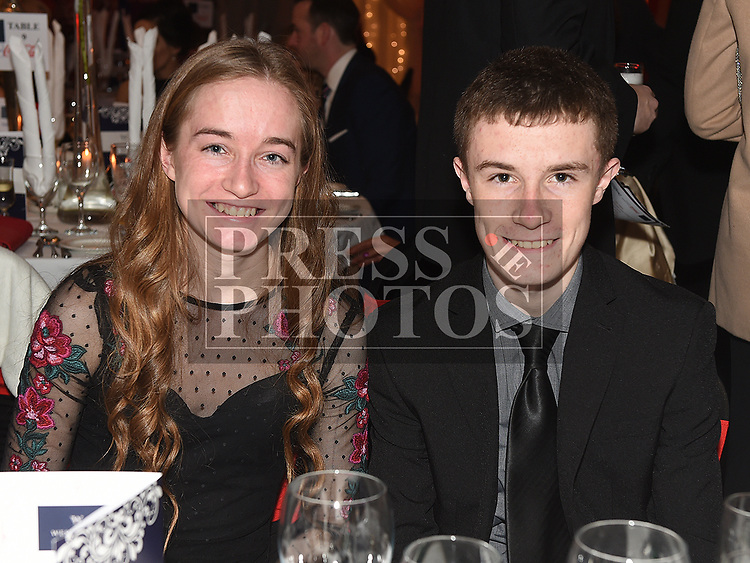 Conor and Seoda Matthews at the Drogheda Independent Sports Star of the Year Awards in The Westcourt Hotel. Photo:Colin Bell/pressphotos.ie