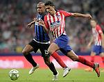 Atletico de Madrid's Rodrigo Hernandez (r) and FC Internazionale Milan's Mario Joao during International Champions Cup 2018 match. August 11,2017. (ALTERPHOTOS/Acero)