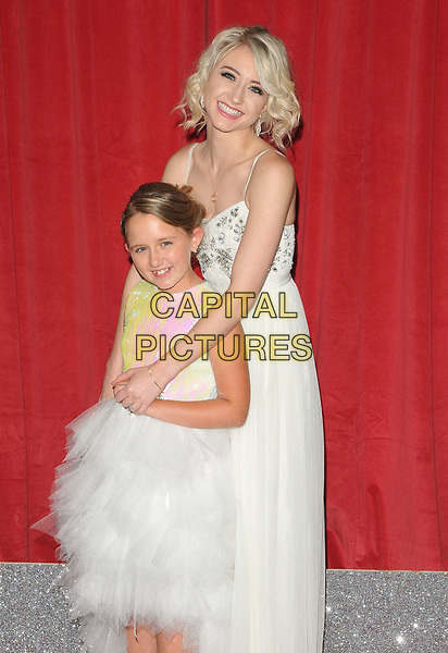 Ela-May Demircan and Ashley Slanina Davies at the British Soap Awards 2017, The Lowry Theatre, Pier 8, Salford Quays, Salford, Manchester, England, UK, on Saturday 03 June 2017.<br /> CAP/CAN<br /> &copy;CAN/Capital Pictures
