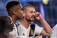Carson, CA - Sunday March 04, 2018: The Los Angeles Galaxy defeated the Portland Timbers 2-1 during a Major League Soccer (MLS) regular season game at StubHub Center.