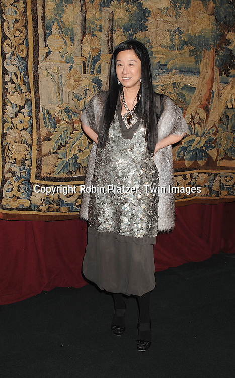 Vera Wang..arriving at The 7th on Sale Black Tie Gala Dinner on ..November 15, 2007 at The 69th Regiment Armory in New York. The Fashion Industry's Battle Against HIV and AIDS..will benefit. CFDA and Vogue were 2 of the sponsors...Robin Platzer, Twin Images