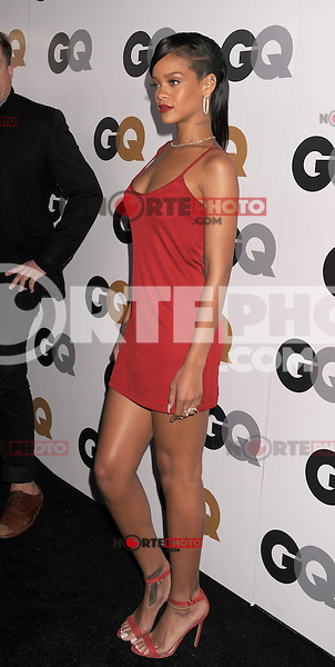 WWW.BLUESTAR-IMAGES.COM Rihanna arrives at the GQ Men Of The Year Party at Chateau Marmont Hotel on November 13, 2012 in Los Angeles, California. .Photo: BlueStar Images/OIC jbm1005  +44 (0)208 445 8588..