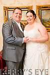 Aisling O'Donnell, Cahill Park Tralee, daughter of Jimmy and Maura O'Donnell, and Kieran Sweeney, Shanakill, Tralee, son of Joe and Sue Sweeney, were married at St. John's Church Tralee by Fr. Padraig Walsh on Saturday 11th June 2016 with a reception at Ballyroe Heights Hotel