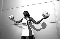 PICTURE BY BEN DUFFY/SWPIX - England netball's Chioma Ezeogu