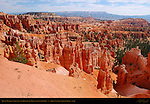 Queen's Garden, Fairyland and Bristlecone Point from Sunset Point, Bryce Canyon National Park, Utah
