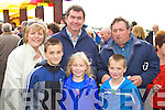 Pictured at Listowel Races on Sunday, from left: Anne Stack, Paul O'Shea, Kevin Stack, Claire Stack, Tom O'Shea and Mark O'Shea from Kilcummin..