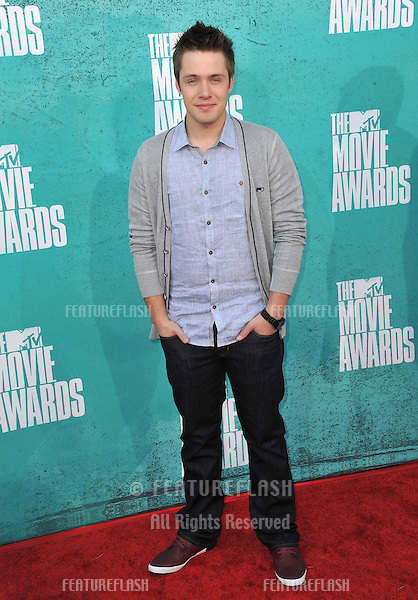 Matthew Fahey at the 2012 MTV Movie Awards at Universal Studios, Hollywood..June 4, 2012  Los Angeles, CA.Picture: Paul Smith / Featureflash